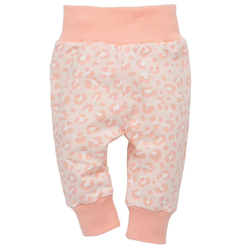 Pantaloni cu elastic în talie pentru fete  819
