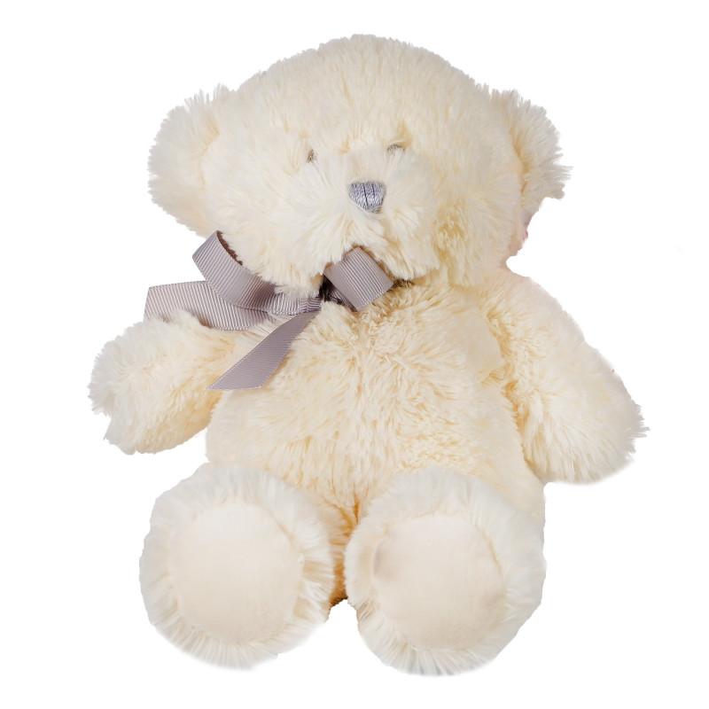 Jucarie de pluș - urs de culoare albă cu dimensiunea de 23 cm  81948