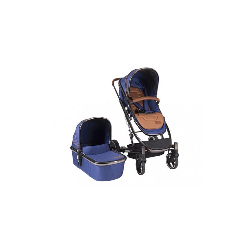 Divaina culoare albastru adevărat 2 în 1 cărucior pentru bebeluși  8230