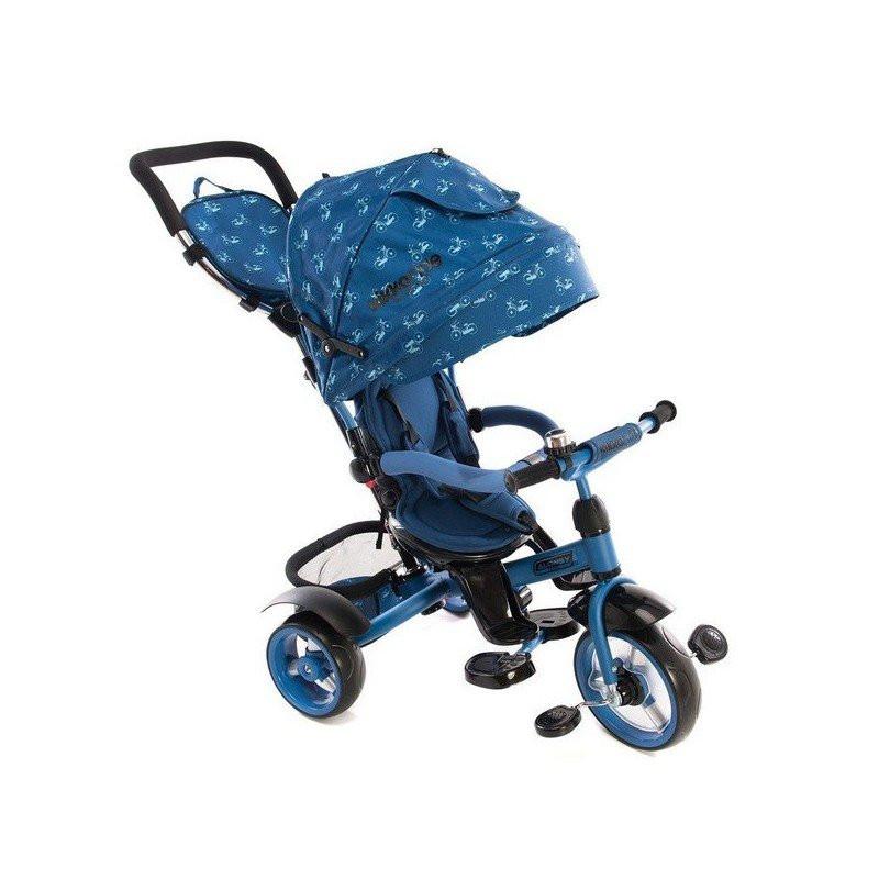Tricicletă Alonsy Blue 3 în 1  8252