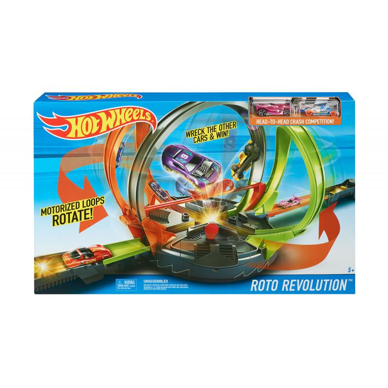 Set de jocuri Hot Wheels, Direct Match cu 2 mașini  8329