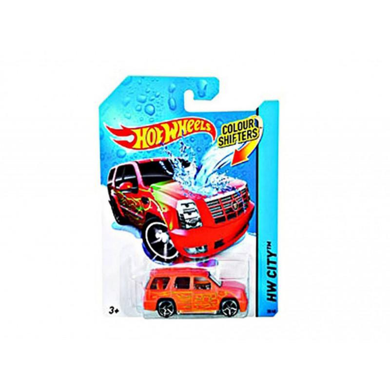 Mașină ce-și schimbă culoare , marca Hot Wheels  8335