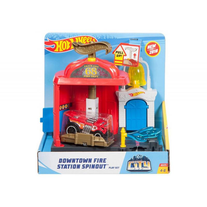 Set cu mașină Hot Wheels  8343