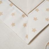 """Set lenjerie de pat pentru bebeluși """"Zoo"""" cu termometru Inter Baby 83452 4"""