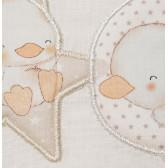 """Set lenjerie de pat pentru bebeluși """"Zoo"""" cu termometru Inter Baby 83453 5"""