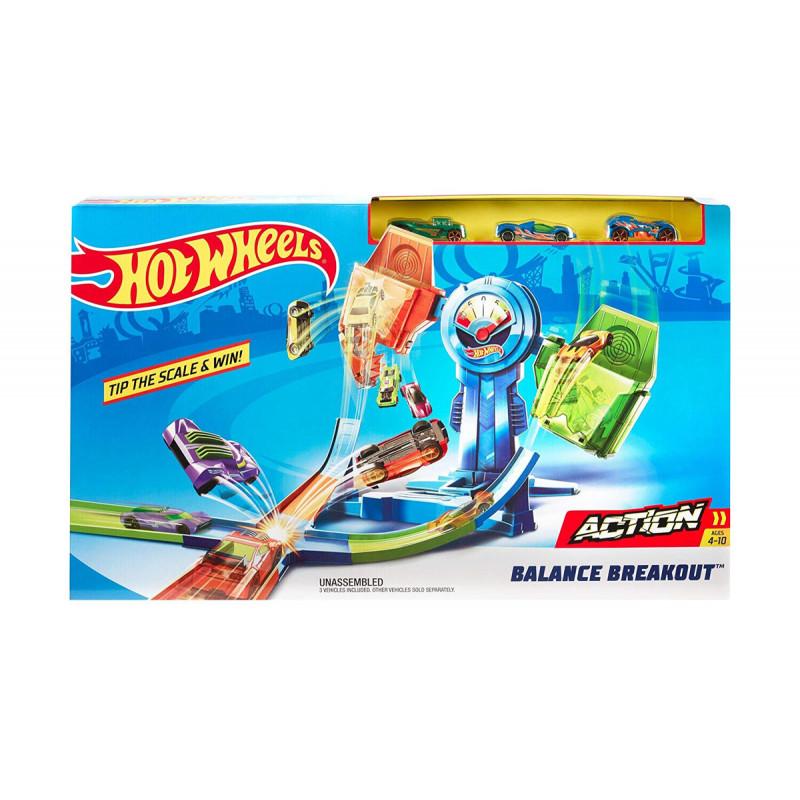 Jocul Hot Wheels Set - cursă periculoasă  8349