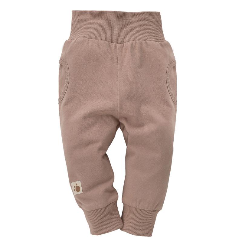 Pantaloni unisex pentru copii cu o aplicație  835