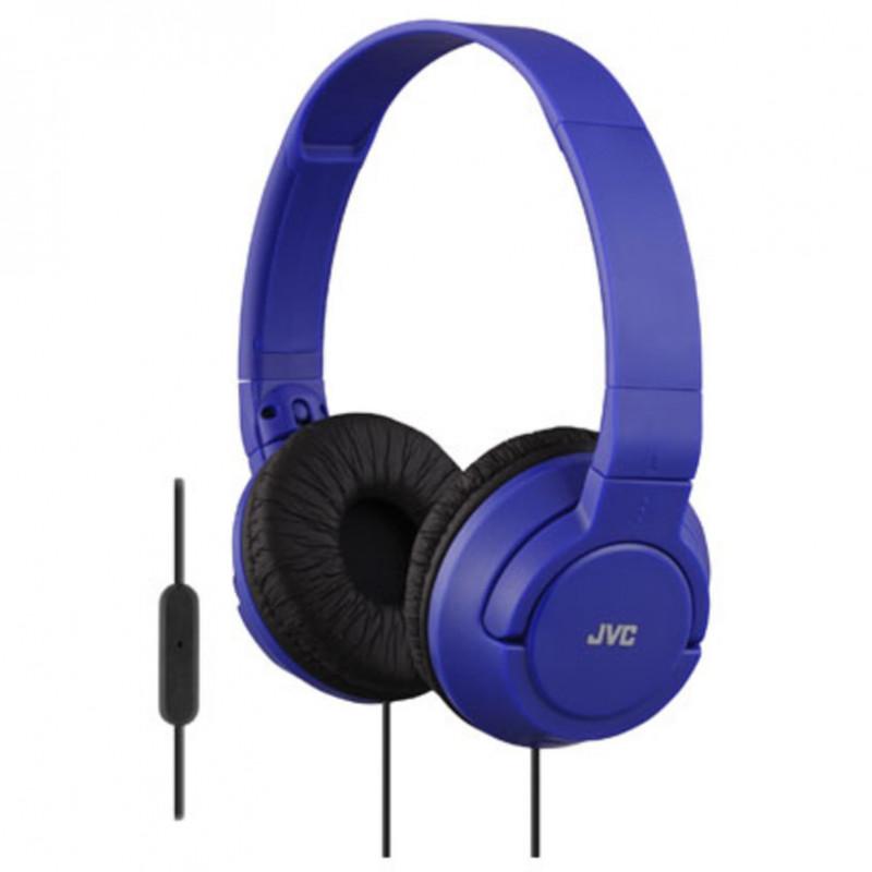 Căști stereo de culoare albastră ha-sr185-a  8612