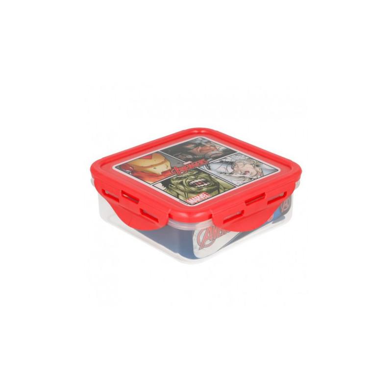 Cutie de prânz, din filmul Răzbunători, etanș, 500 ml, plastic 500 ml  8756