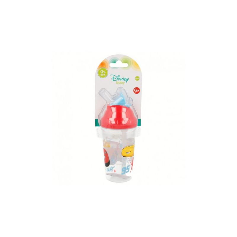 Pahar cu duză flexibilă Cars pentru băieți  8823