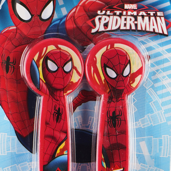 Set de tacâmuri din 2 părți cu imagine Spiderman, roșu Spiderman 88287 3