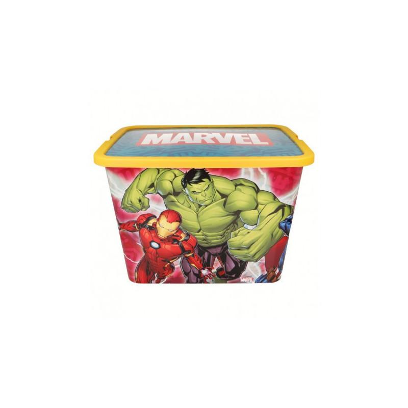 Cutie de depozitare cu clic, Avengers, 23 litri  8865