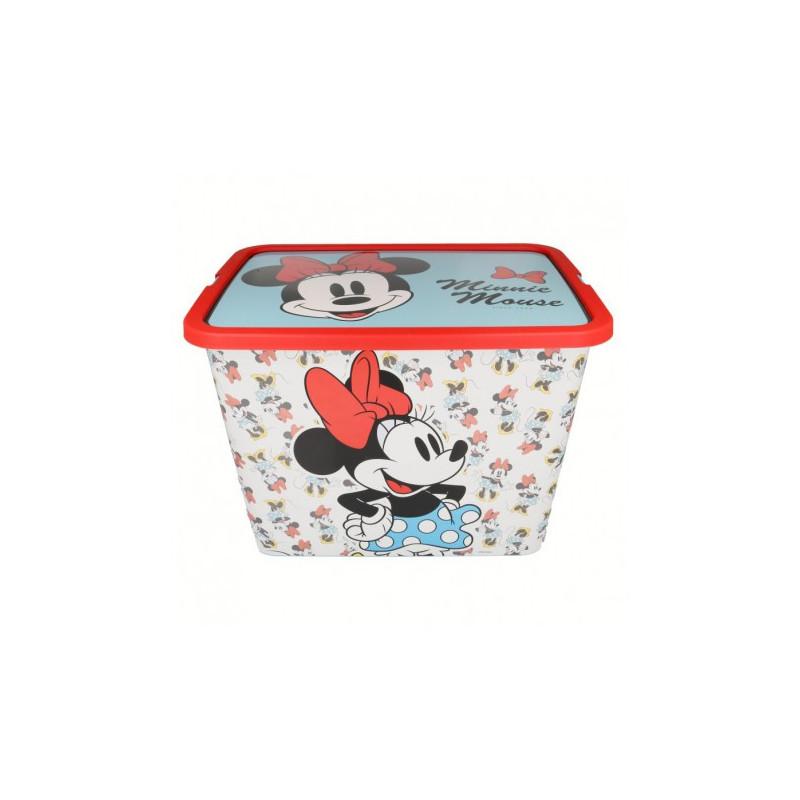 Cutie de depozitare Click-on, Minnie Mouse, 23 litri  8870