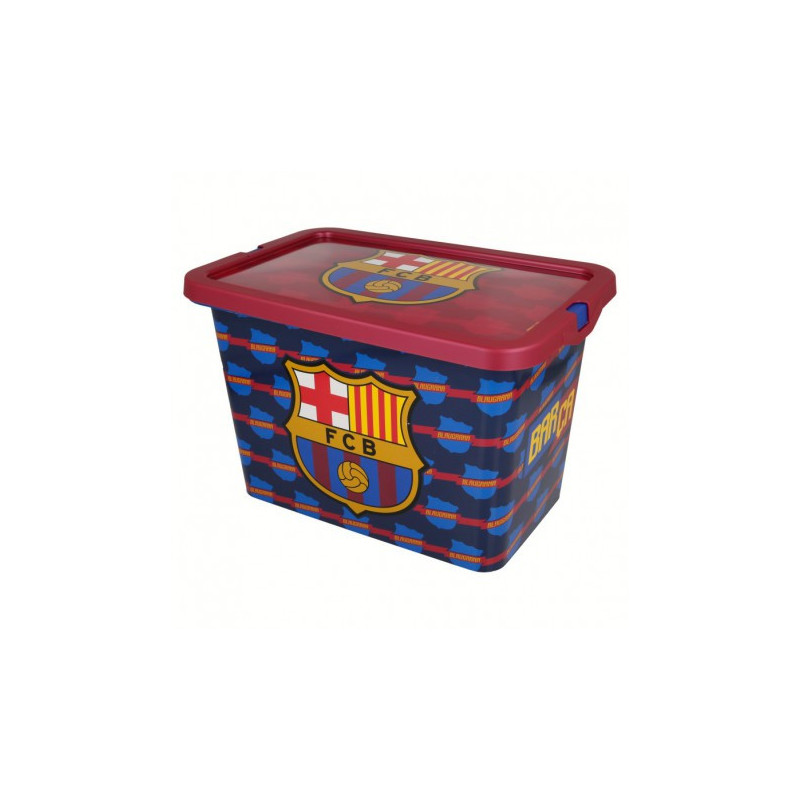 Cutie de depozitare Click-top, FC Barcelona, 7 litri  8873