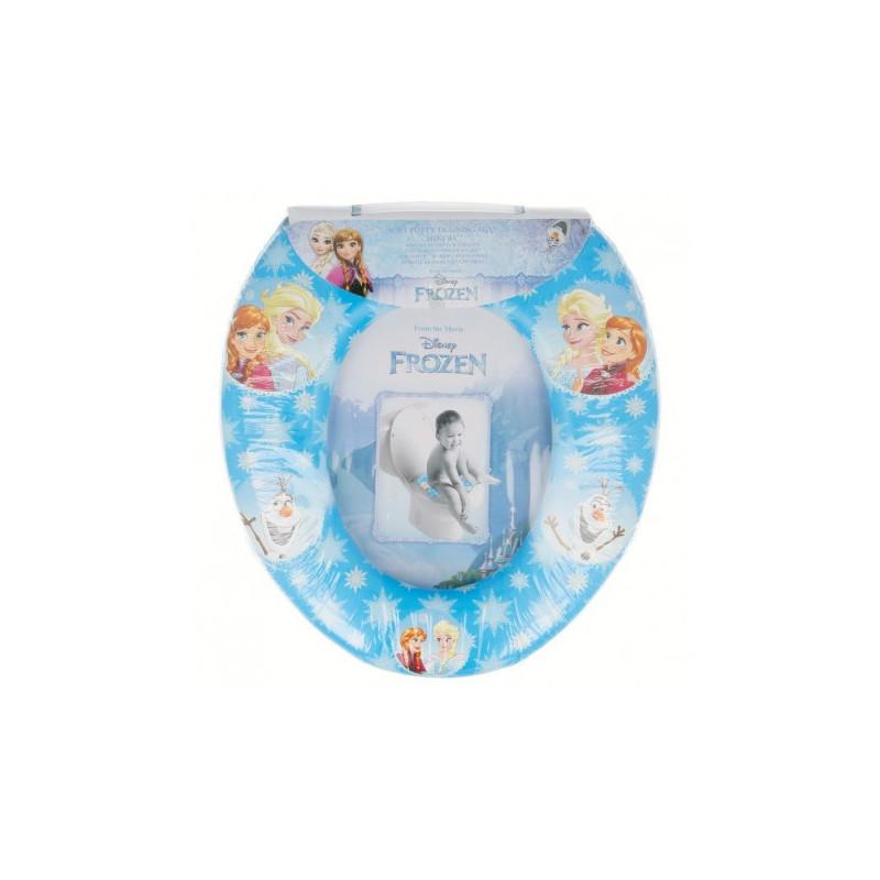 """Mini scaun de toaletă pentru copii cu cârlig, model cu Elsa și Anna de la """"Frozen""""  8899"""