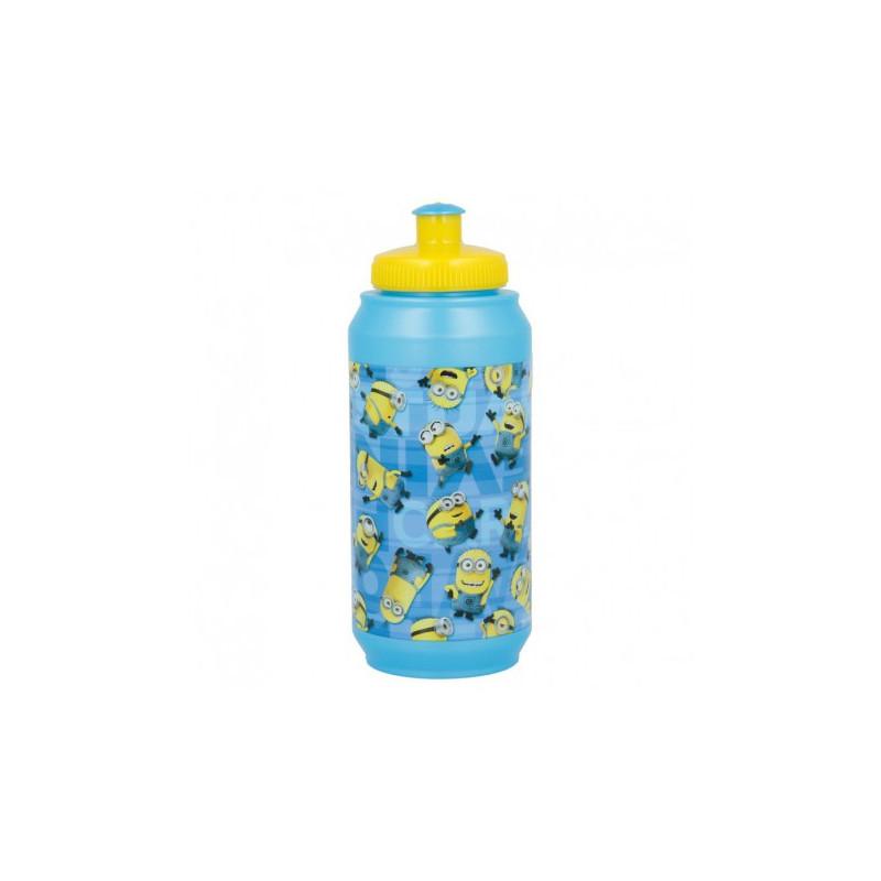 Sticlă pentru lichide cu imagine Minions Rules  8982