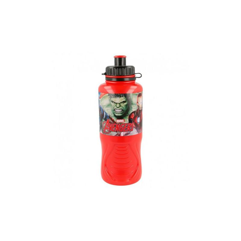 Sticlă pentru lichide ergonomică cu imagine Avengers  8988
