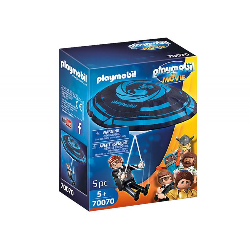 Playmobil - Rex Dasher cu o parașută  93843