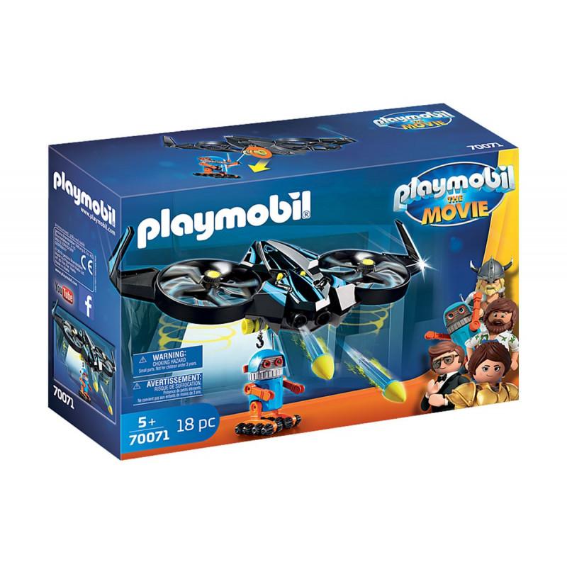Playmobil - Robotitron cu dronă  93847