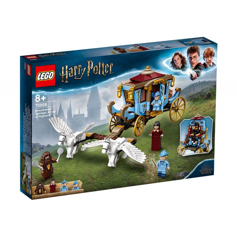 Lego The Beauxbatons Cărucior: Sosire în Hog 430  94331