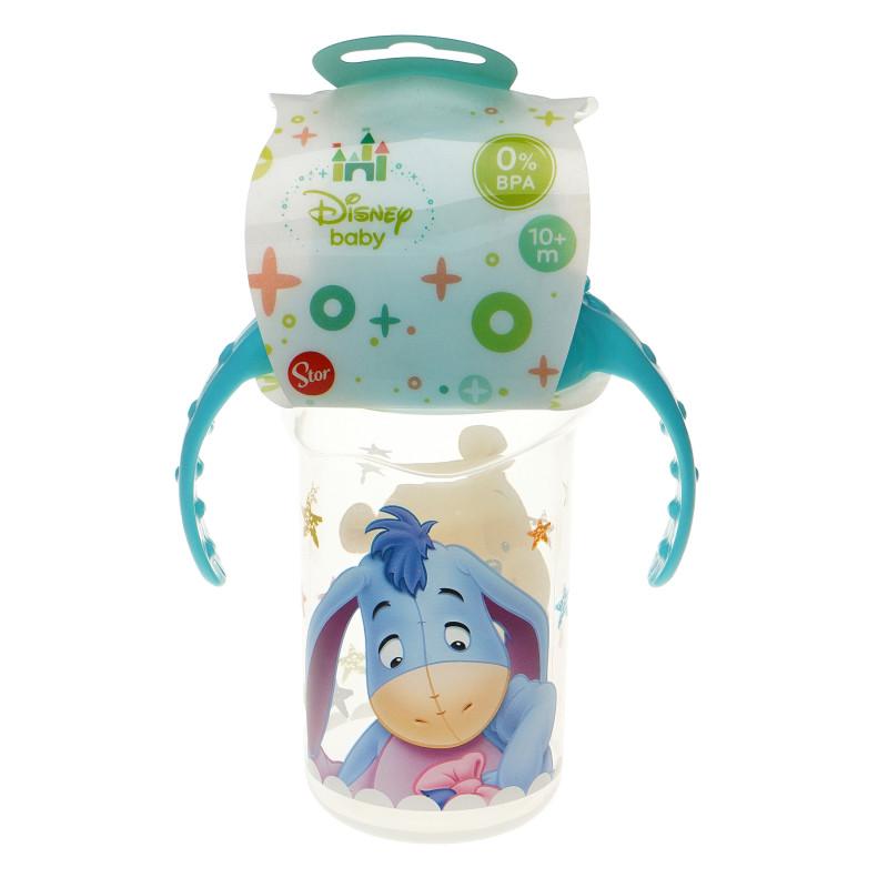 Pahar cu duze din silicon Winnie the Pooh, albastru  95300