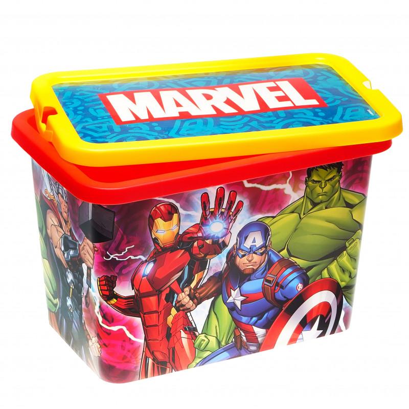Cutie de depozitare cu clic, Avengers, 7 litri  95548