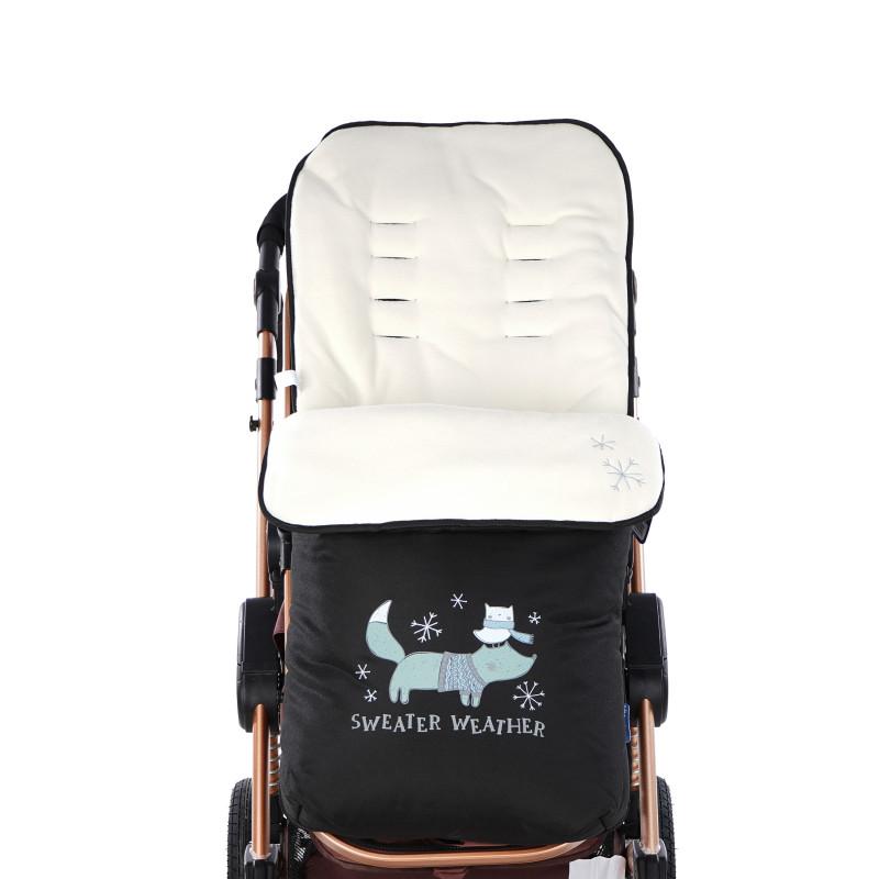 Sac pentru cărucior cu prieteni polari, bej  95855