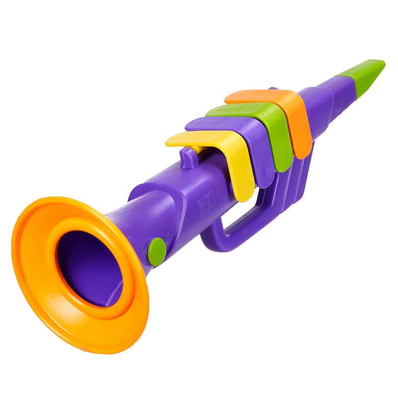 Trompetă pentru copii cu 4 note  96034