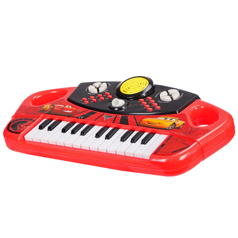 Pian electronic pentru copii, cu 25 de clape, Cars  96103