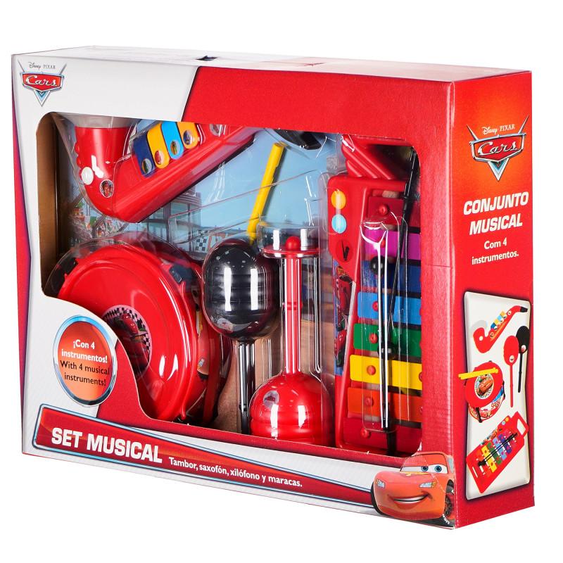 Set de instrumente muzicale pentru copii, 4 piese  96114