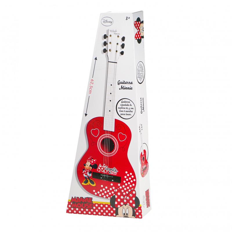 Chitară din lemn pentru copii, Minnie Mouse  96132