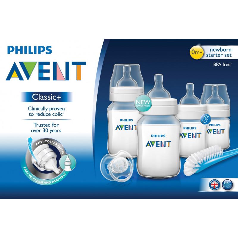 Kit Philips avent pentru bebeluși cu suzetă, pentru 0-12 luni  97800