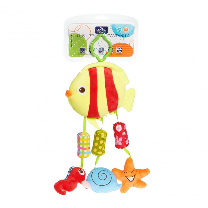 Jucărie pește, cu clopoțel  99681