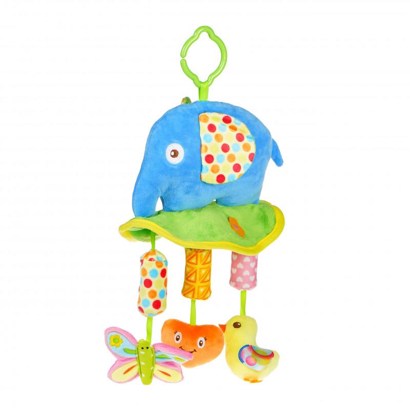 Jucărie  elefant cu clopoței  99690