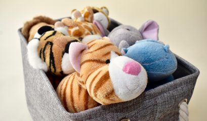 Storage,basket,for,organizing,children's,and,toddler's,toys,and,plush